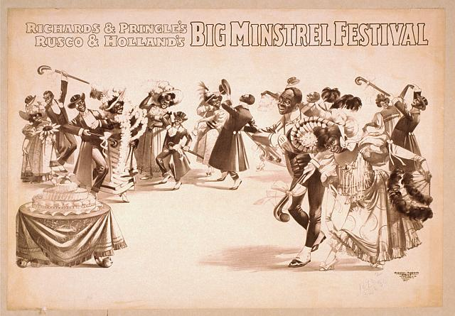Richards & Pringle's, Rusco & Holland's Big Minstrel Festival