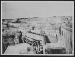 Tangier - view from Constantine Hotel, showing the old Moorish harbor defenses