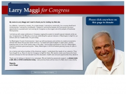 Official Campaign Web Site - Lawrence Owen 'Larry' Maggi
