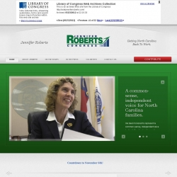 Official Campaign Web Site - Jennifer Roberts