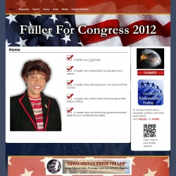 Official Campaign Web Site - Virginia Fuller-Kendall