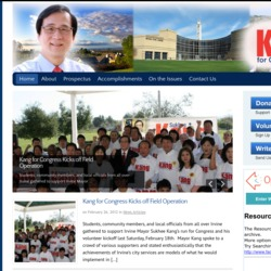 Official Campaign Web Site - Sukhee Kang
