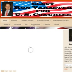Official Campaign Web Site - Ron Varasteh