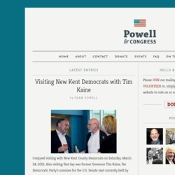 Official Campaign Web Site - Ernest Wayne Powell