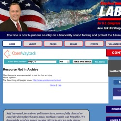 Official Campaign Web Site - Stephen A. Labate