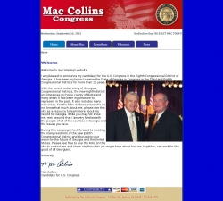 Official Campaign Web Site - Christopher Carl Collins