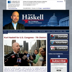 Official Campaign Web Site - Kurt Richard Haskell
