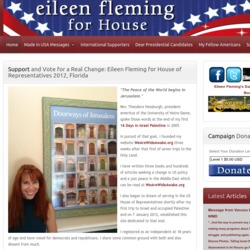 Official Campaign Web Site - Eileen Fleming