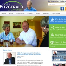 Official Campaign Web Site - Keith Fitzgerald