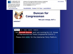 Official Campaign Web Site - Kenneth Duncan