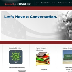 Official Campaign Web Site - Charles Kimball