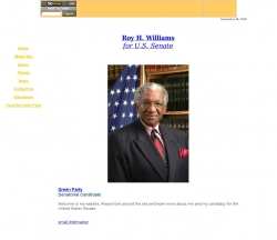 Official Campaign Web Site - Roy Williams