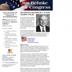 Official Campaign Web Site - Jim Behnke