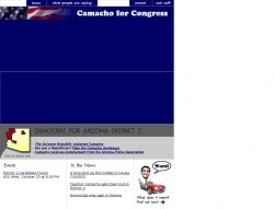 Official Campaign Web Site - Randy Robert Camacho