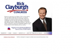 Official Campaign Web Site - Rick Clayburgh