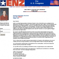 Official Campaign Web Site - Catherine Enz