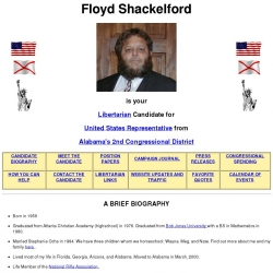 Official Campaign Web Site - Floyd Shackelford