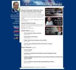 Official Campaign Web Site - George Pataki