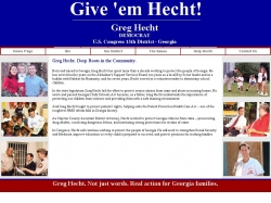 Official Campaign Web Site - Greg Hecht