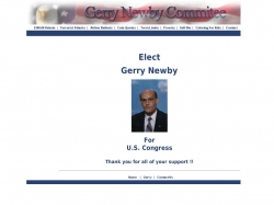 Official Campaign Web Site - Gerry Newby