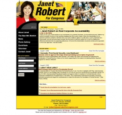 Official Campaign Web Site - Janet Robert