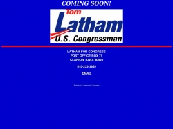Official Campaign Web Site - Tom Latham