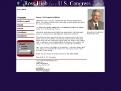 Official Campaign Web Site - Ross Hieb