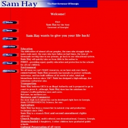 Official Campaign Web Site - Sam Hay