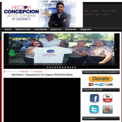 Official Campaign Web Site - Hector Concepcion