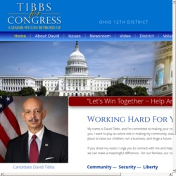 Official Campaign Web Site - David Arthur Tibbs