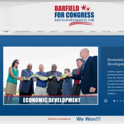 Official Campaign Web Site - Jonathan Barfield Jr.