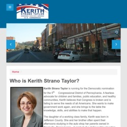 Official Campaign Web Site - Kerith Strano Taylor