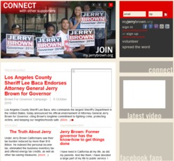 Official Campaign Web Site - Jerry Brown