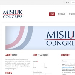 Official Campaign Web Site - Isaac James Misiuk