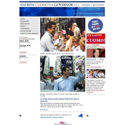 Official Campaign Web Site - Andrew Cuomo