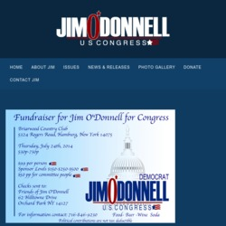 Official Campaign Web Site - Jim O'Donnell