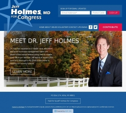 Official Campaign Web Site - Jeff Holmes