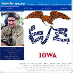 Official Campaign Web Site - Holder Jack Bryan