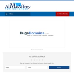 Official Campaign Web Site - Al McAffrey