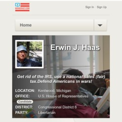 Official Campaign Web Site - Erwin J. Haas