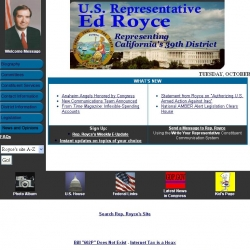 Member of Congress Official Web Site - Edward R. Royce