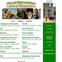 Find All Sites About Afghanistan