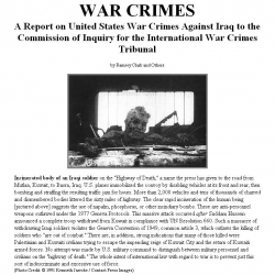 International War Crimes Tribunal