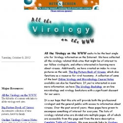 All the Virology on the WWW