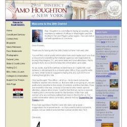 Member of Congress Official Web Site - Amo Houghton