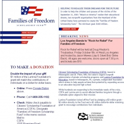 Families of Freedom Scholarship Fund
