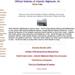 Official Website of Atlantic Highlands, NJ