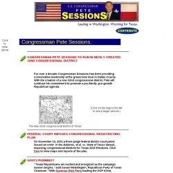 Official Campaign Web Site - Pete Sessions
