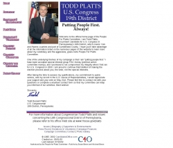 Official Campaign Web Site - Todd Russell Platts