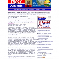 Official Campaign Web Site - Tracy Valazquez